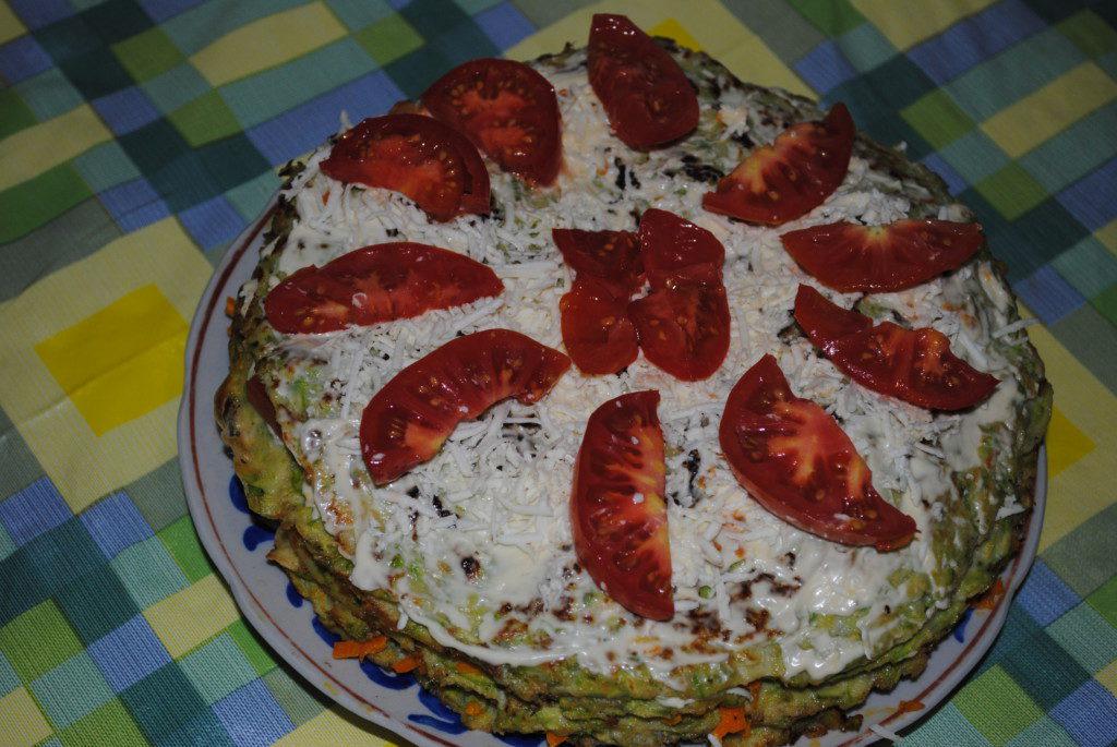 Как сделать кабачковый торт 160