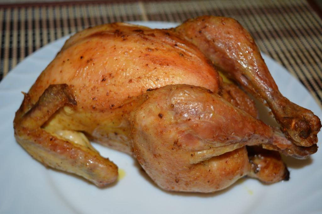 курица в духовке целиком с румяной корочкой рецепт с фото