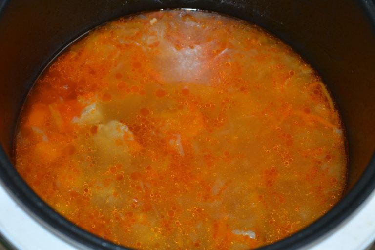 Щи с квашеной капусты в мультиварке пошаговый рецепт с фото