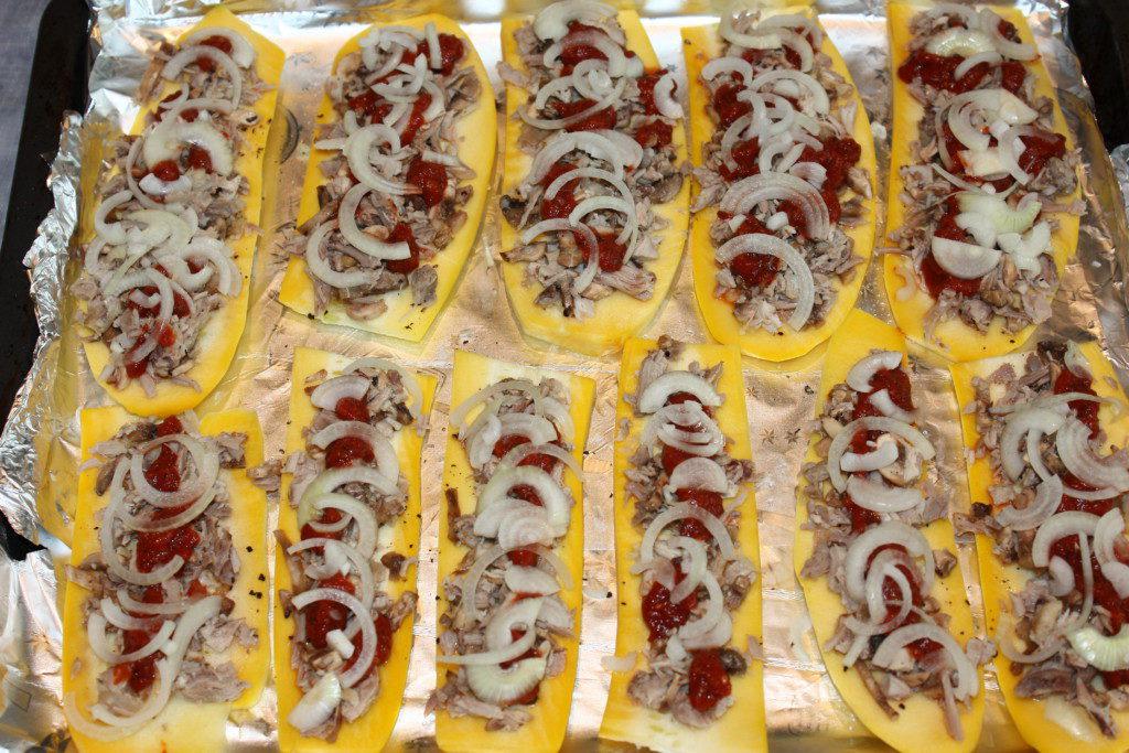 Как запечь кабачки в духовке с майонезом