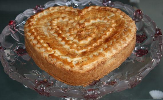 Кростата - яблочный пирог из песочного теста