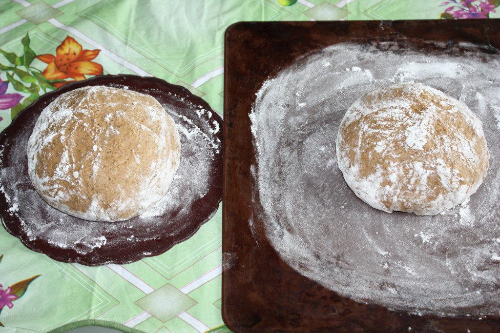 Рецепт черного хлеба домашних