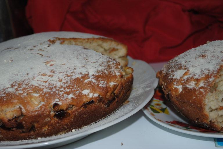 Пышный пирог на кефире рецепт с фото