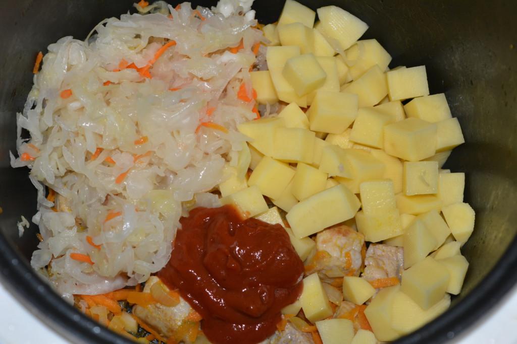 блюда из кислой капусты рецепты