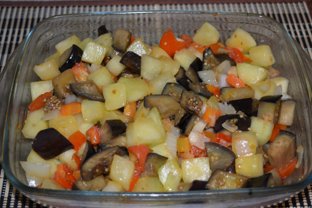 Блюда из баклажан с кабачками пошаговые приготовления