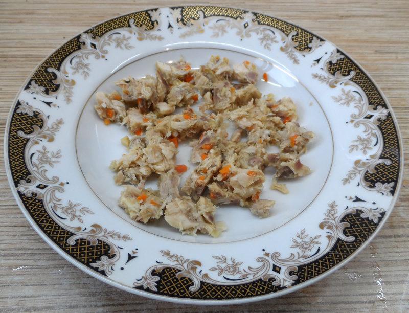 Зеленый суп-пюре из брокколи, шпината, спаржевой фасоли и других овощей с мясом