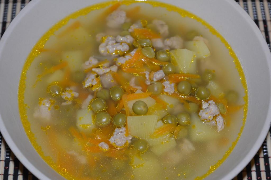 Гороховый суп без мяса рецепт классический