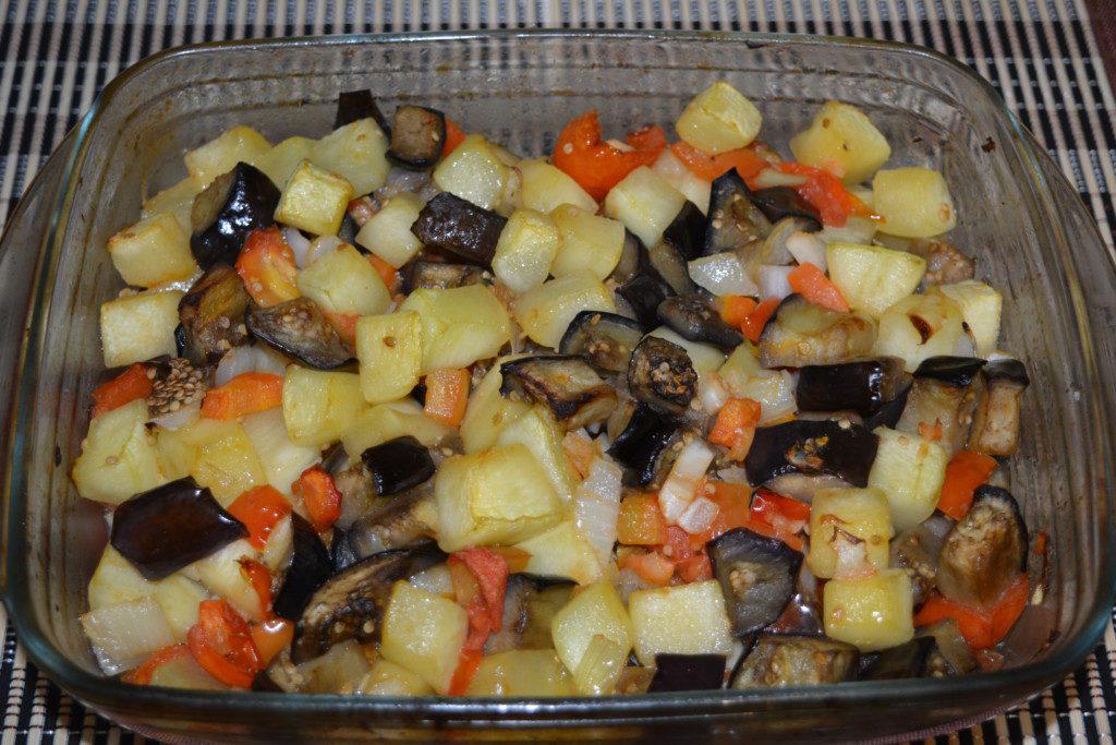 как приготовить соте овощное в духовке рецепт