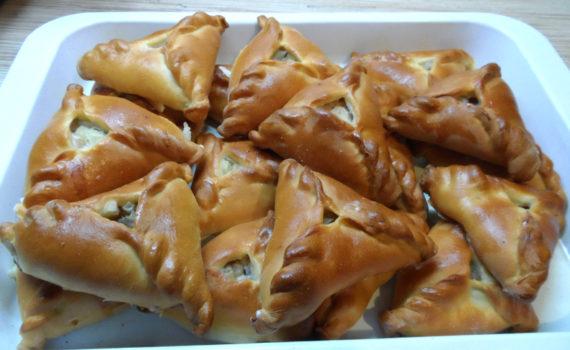 Эчпочмак по-татарски с мясом и картошкой