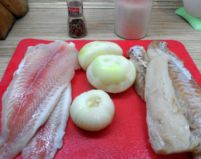 Рыбная начинка для расстегаев
