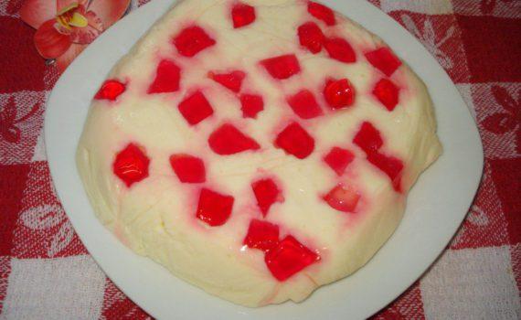 Десерт из творога с желатином