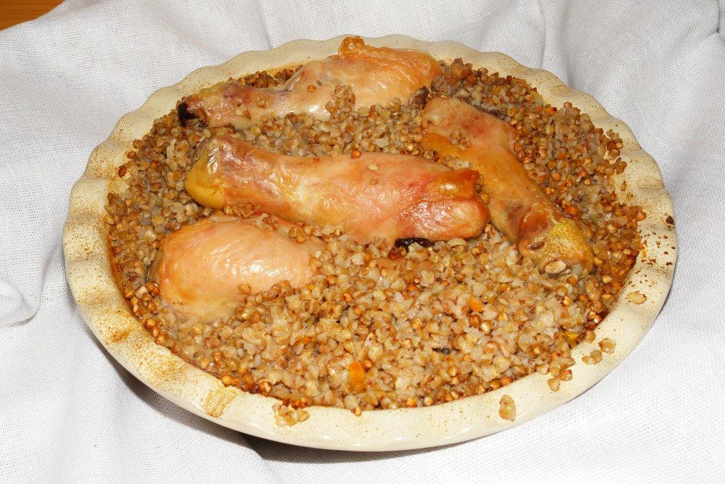 Как приготовить курицу с гречкой