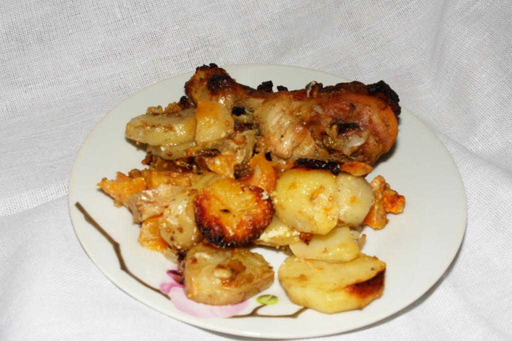 картошка с тыквой и мясом в мультиварке рецепты с фото