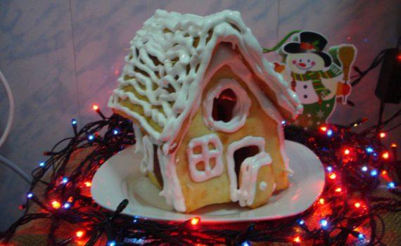 Рождественский пряничный домик своими руками