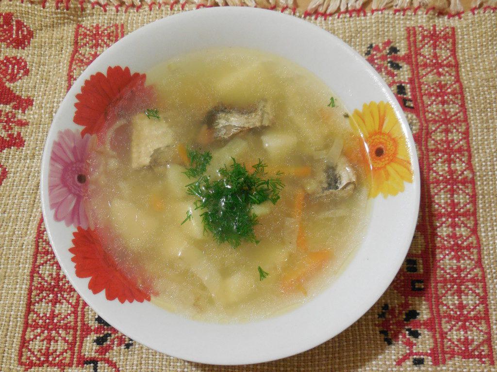 Суп с консервами рыбными и рисом рецепт пошагово в кастрюле 138