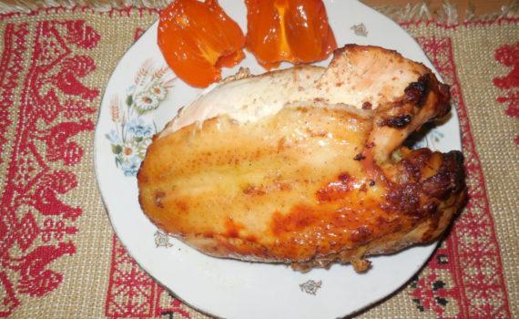 Куриная грудка запеченная в духовке: рецепты с фото 98