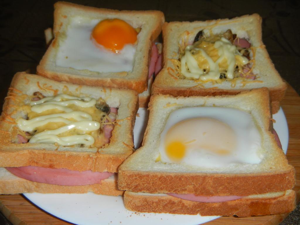 Как вкусно сделать горячий бутерброд 190