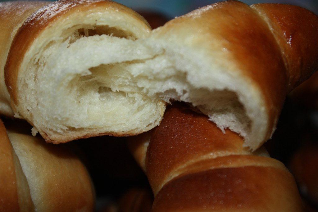 настоящие французские круассаны с луком пошаговый рецепт с фото