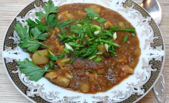 Венгерский суп-гуляш с чипетками