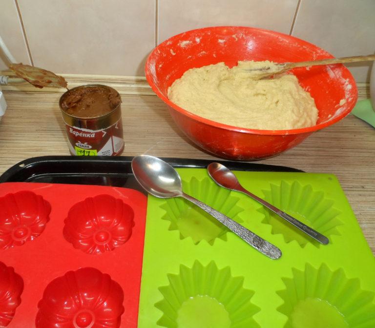 Кексики в формочках для детей рецепт