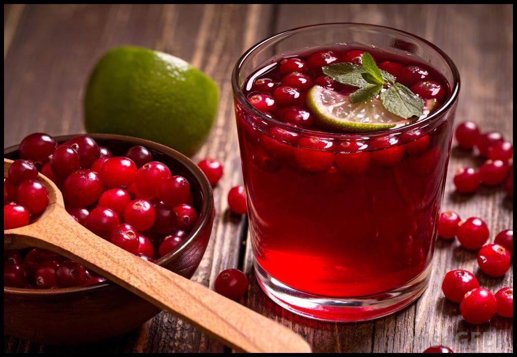 Новогодние напитки и коктейли 2017 - год Петуха