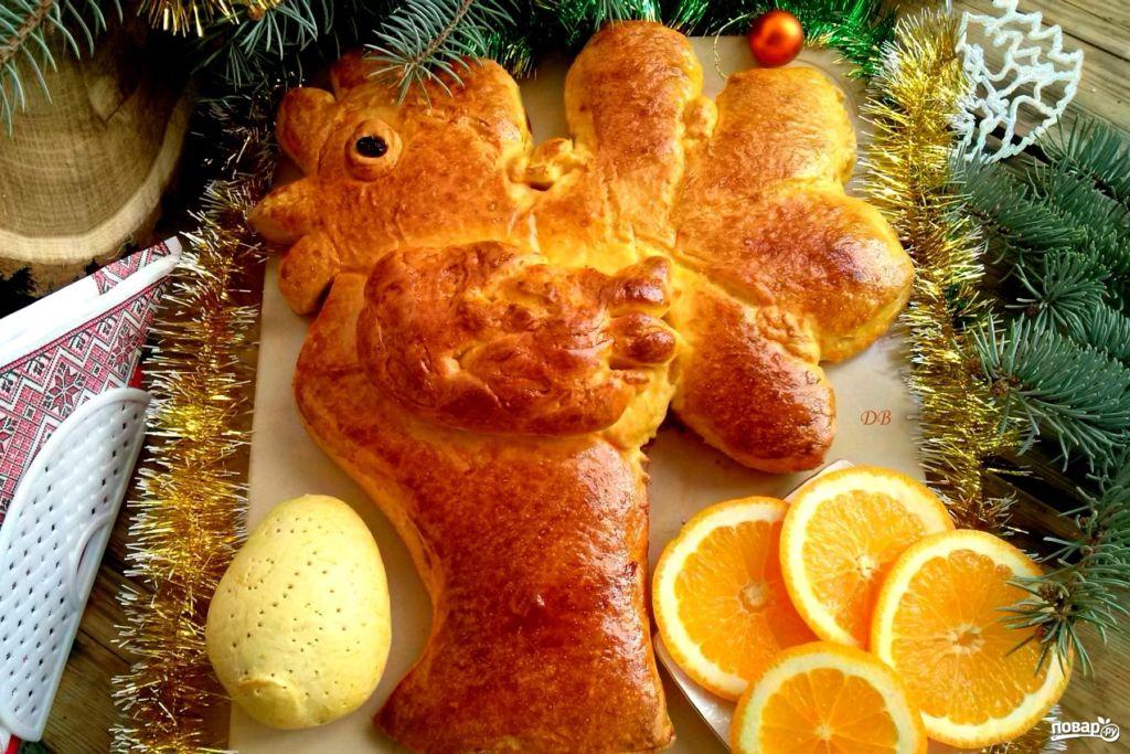 Идеи и рецепты новогодней выпечки 2017, в год Петуха