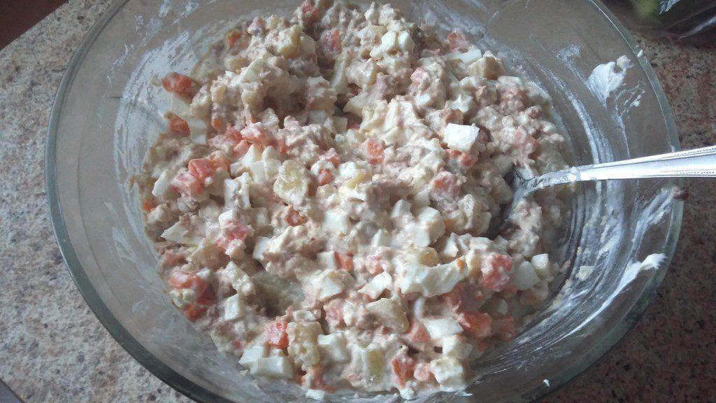 Салат с фунчозой рецепт простой 116
