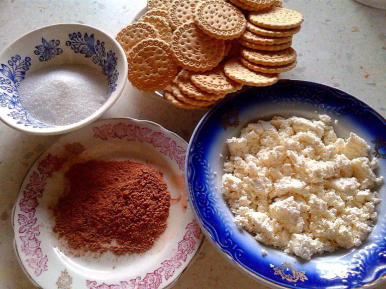Простые рецепты из творога без выпечки рецепт 2