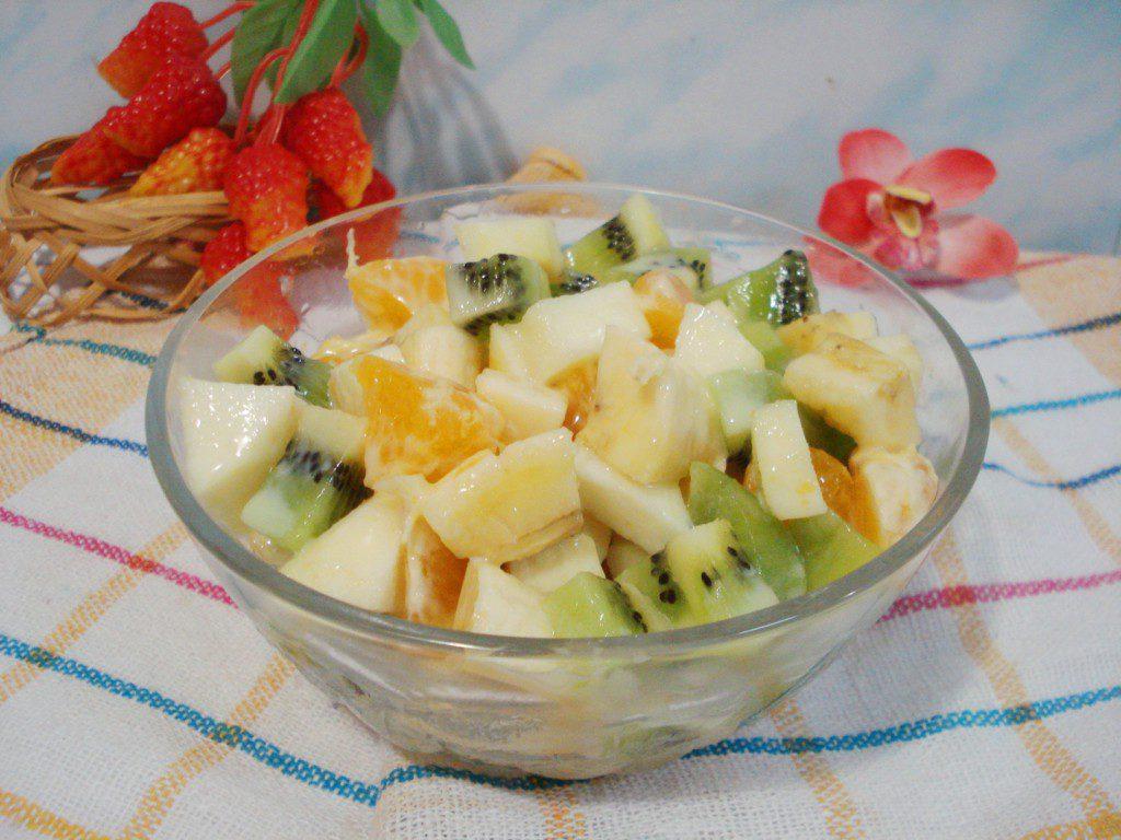 Постные салаты фруктовые рецепты с фото — 7