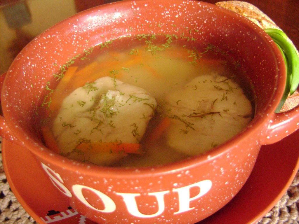Рыбный суп из хека рецепт с фото