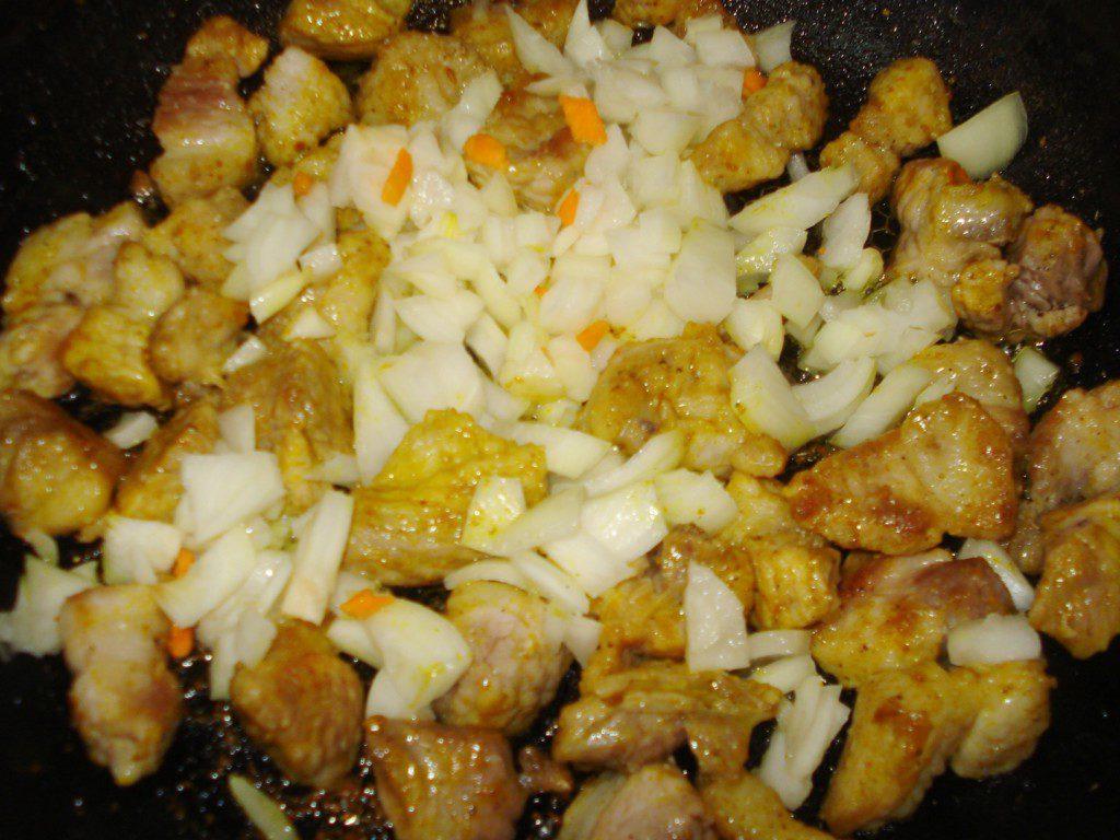Пошаговый рецепт плов со свининой