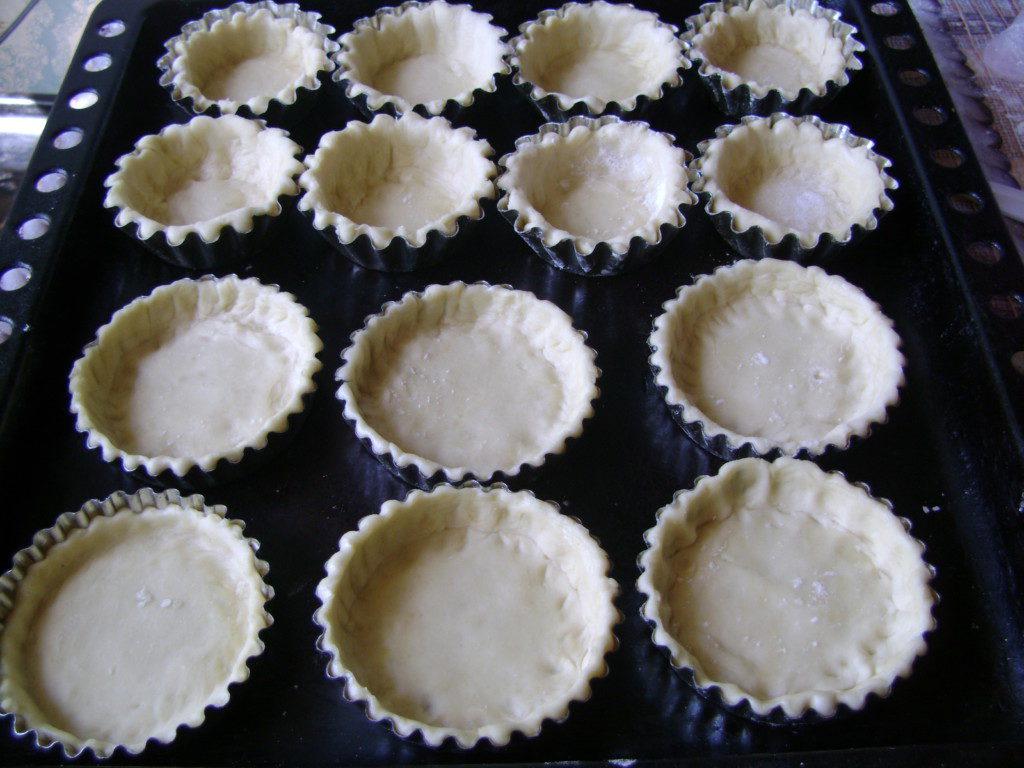 Простое тесто для тарталеток в домашних условиях