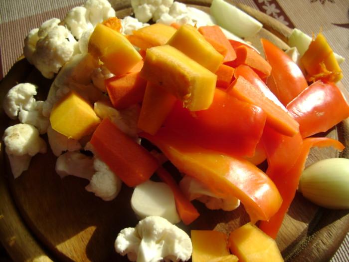 рецепт приготовления филе с овощами в духовке