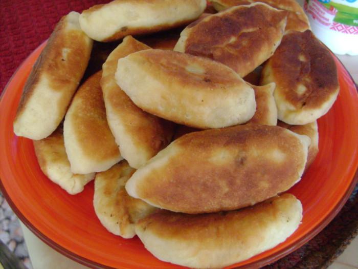 пошаговый рецепт жареных пирожков