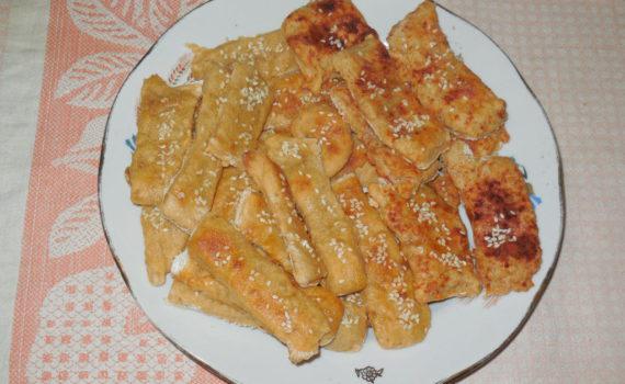 Печенье из картофельного пюре