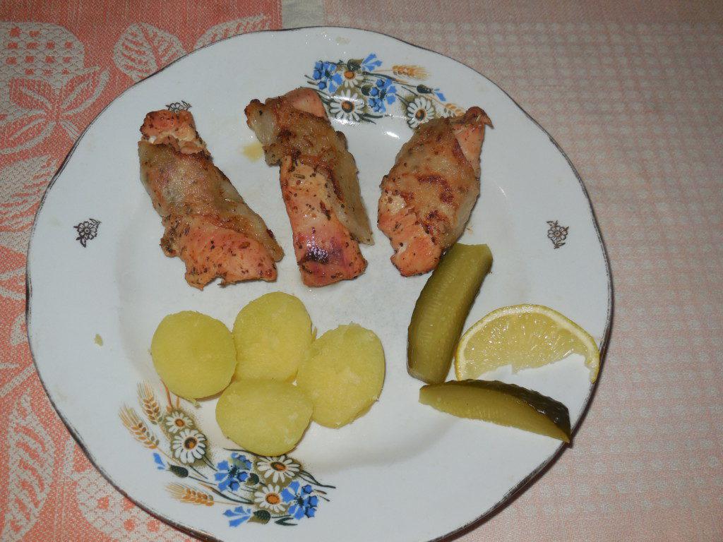 Филе индейки запеченное в духовке