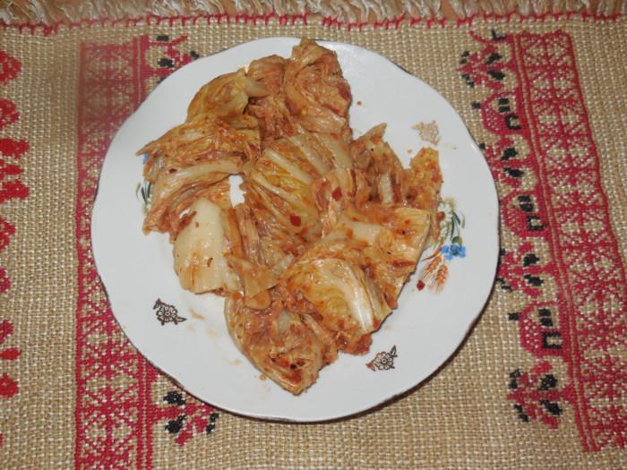 Кимчи из пекинской капусты