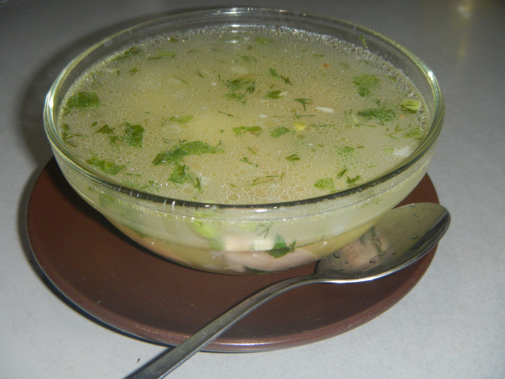 Как приготовить суп с томатным соком