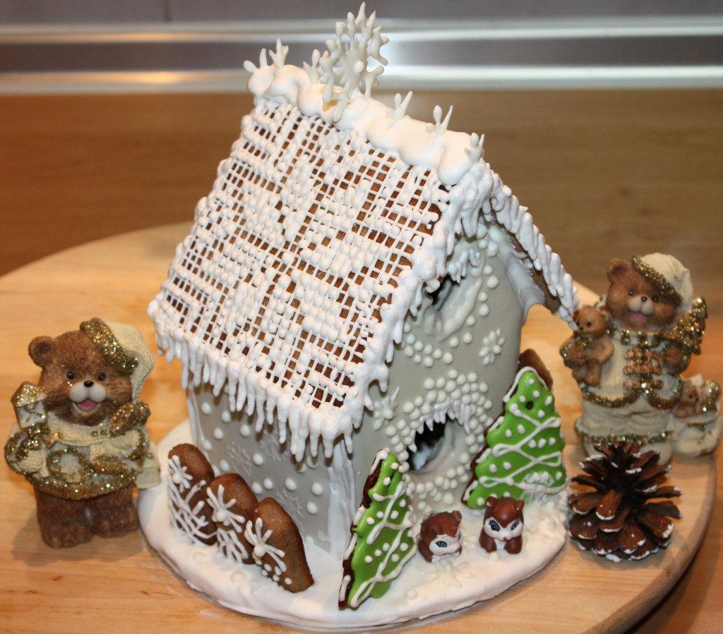 Торт пряничный домик пошаговый рецепт