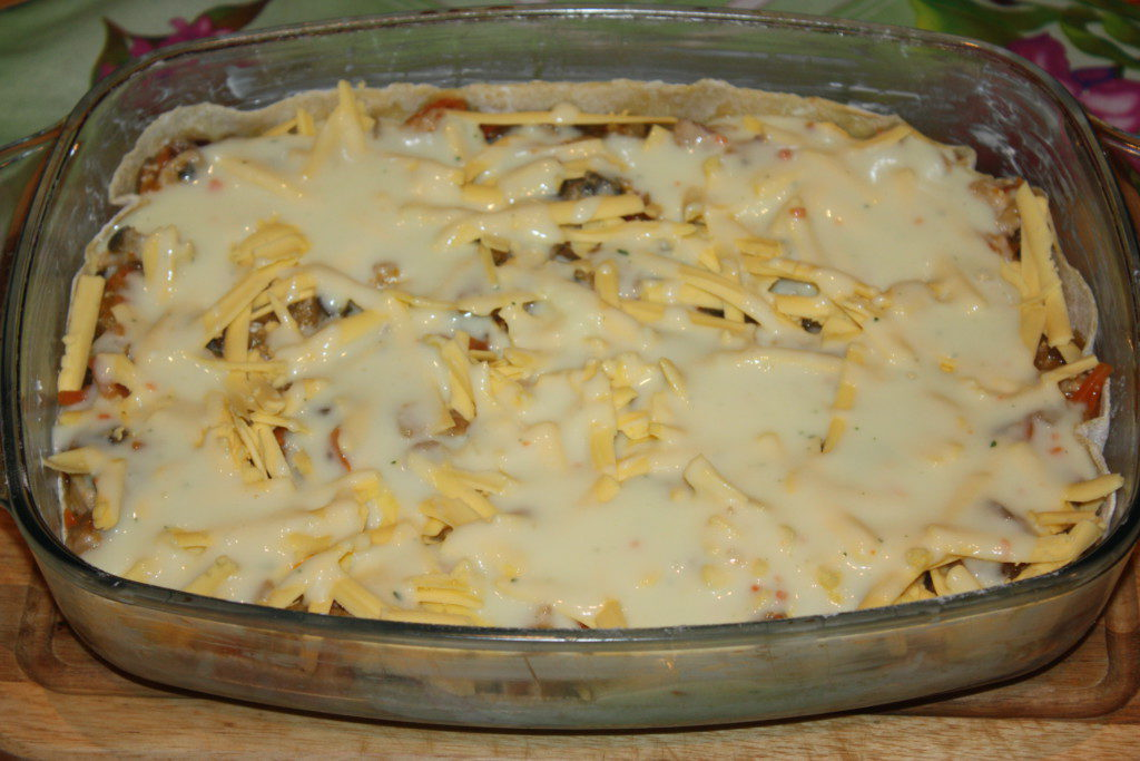 лазанья в духовке с курицей рецепт