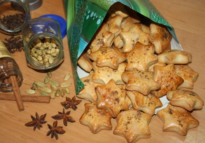 Домашнее имбирное печенье из песочного теста