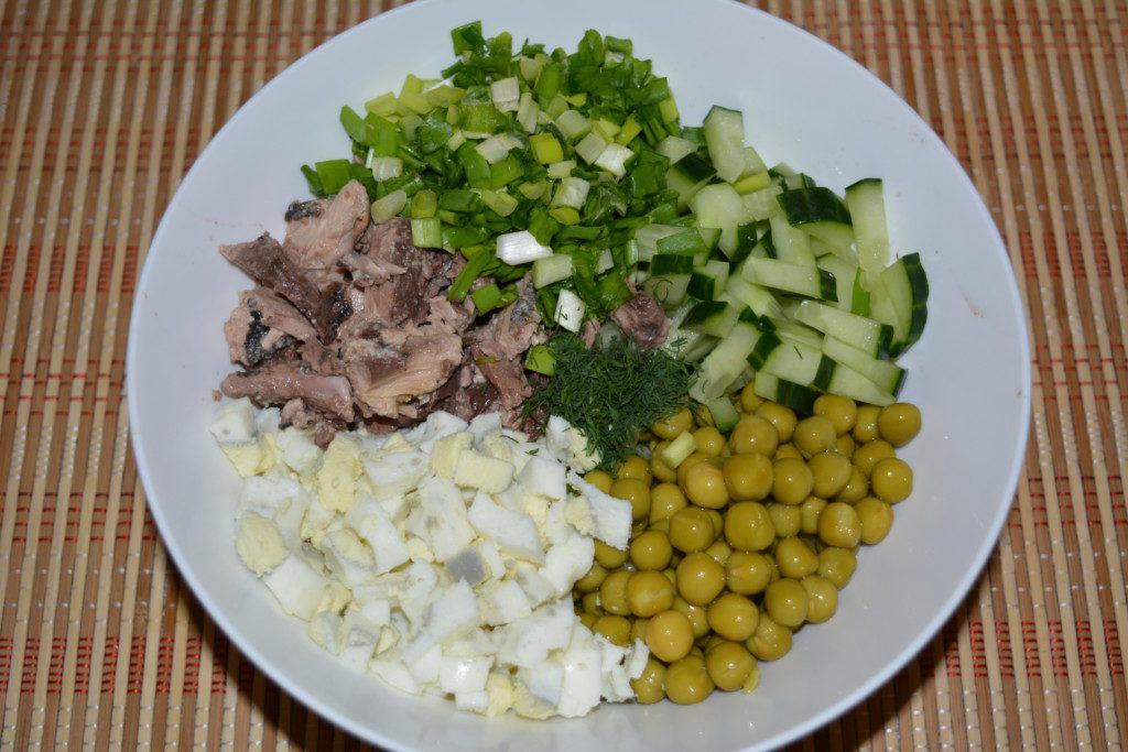 фото) тунцом - с рецепты с Салат с. (98 рецептов