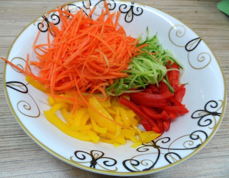 Салат фунчоза рецепт в домашних условиях с мясом 966