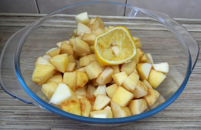 Яблочный мусс с желатином