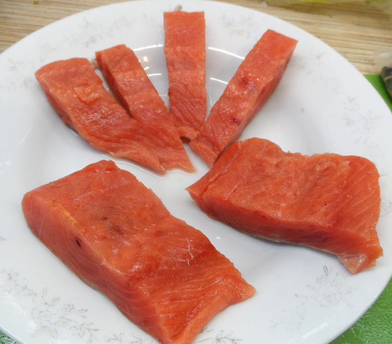 Диета Шесть лепестков, меню на каждый день - рыбный день