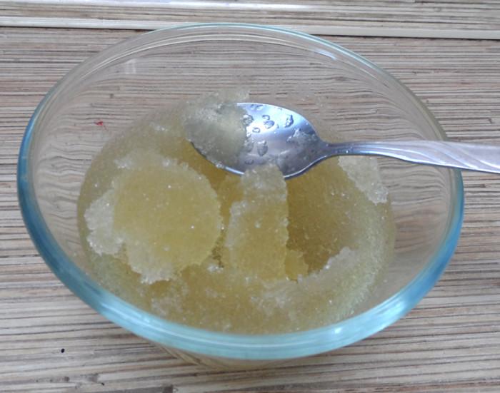 желе из брусники с желатином