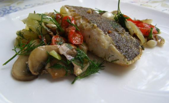 Блюда с яйцами и грибами