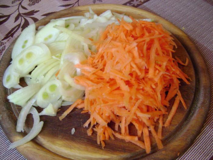 Слоеный салат с сардинами