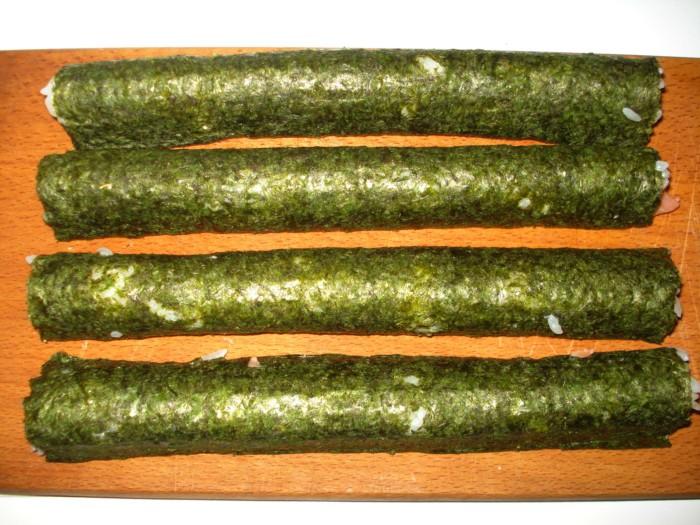 рецепт роллов с крабовыми палочками с фото