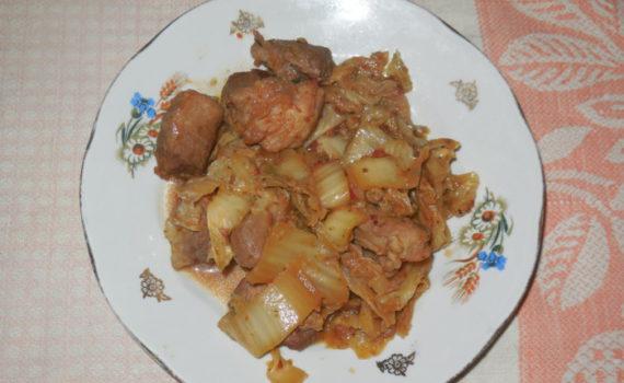 Свинина с кимчи по-корейски
